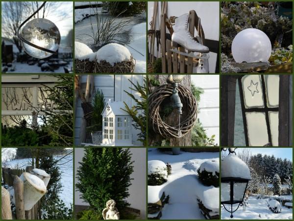 Winterdeko for Winterdeko fur garten